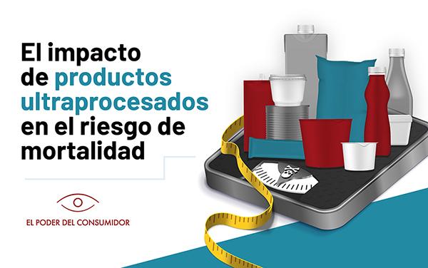 """Banner del foro """"El impacto de productos ultraprocesados en el riesgo de mortalidad"""""""