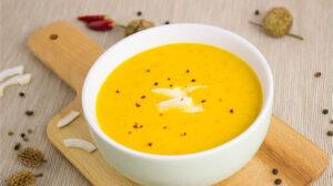 Sopa de jengibre con zanahoria