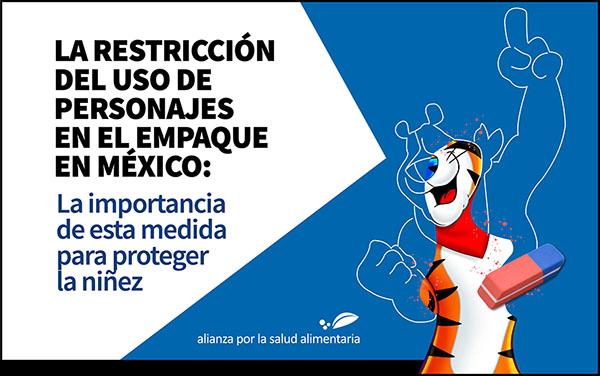 Banner del foro La restricción del uso de personajes en el empaque en México: La importancia de esta medida para proteger la niñez