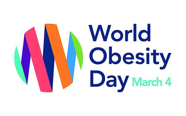 Logo Word Obesity Day (WOD) March 4