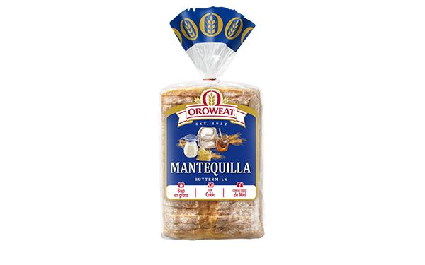 Bolsa de pan de caja Oroweat Mantequilla
