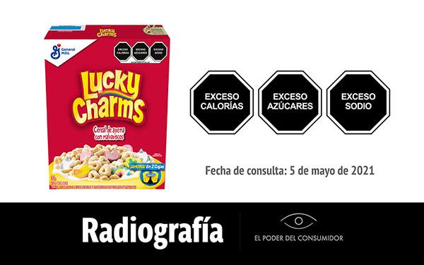 Banner de la radiografía de Lucky Charms