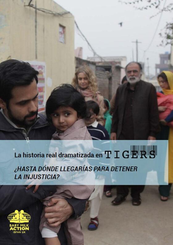 Portada del documento sobre la película Tigers, del director bosnio Danis Tanovíc