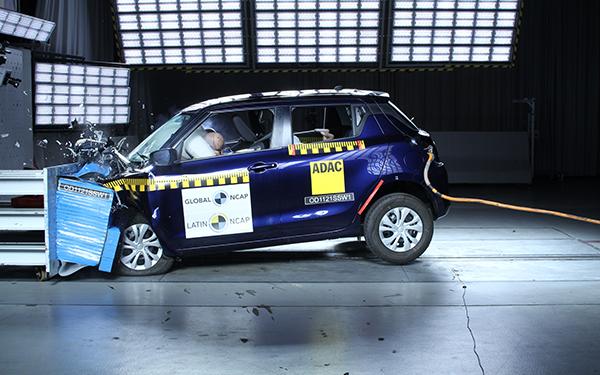 Suzuki en prueba de LatinNCAP