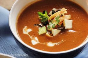 Plato de sopa Tarasca